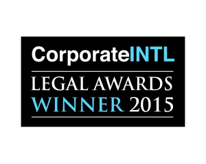 2015 - Legal Awards Logo