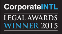 CorporateINTL Legal Awards Winner 2015